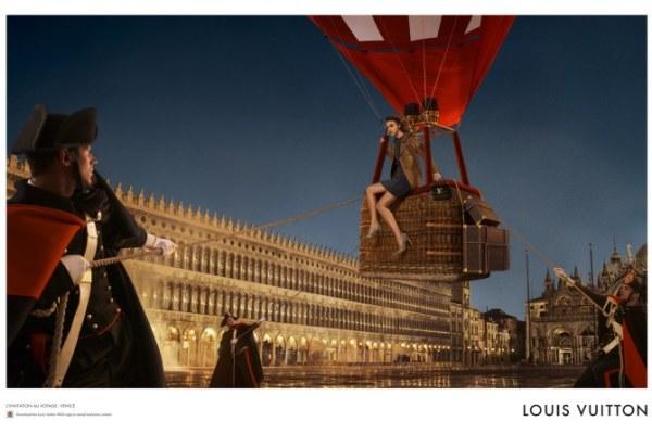 Arizona u drugom delu reklame putuje u Veneciju