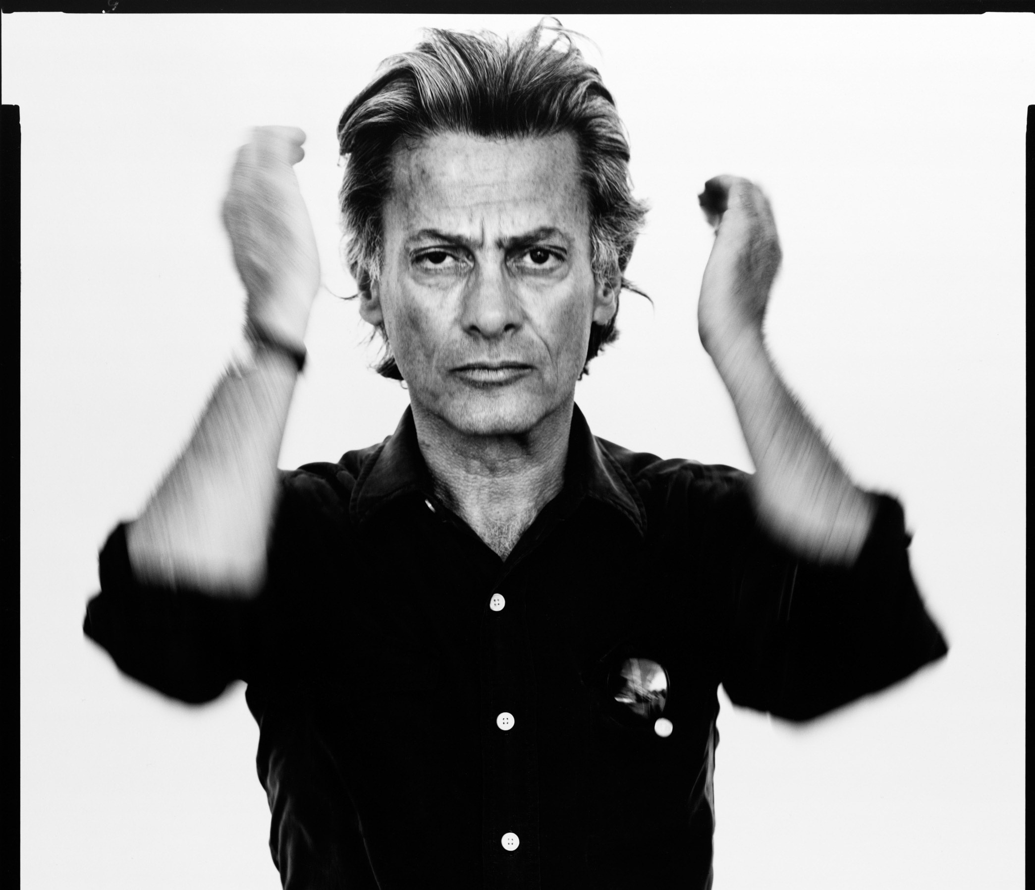Richard Avedon, self-portrait, Photographer, Provo, Utah, August 20, 1980