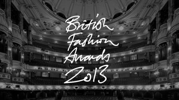 British Fashion Awards 2013.