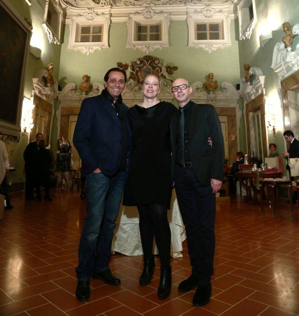 Domaćica večeri Cristina Egger i njeni saradnici