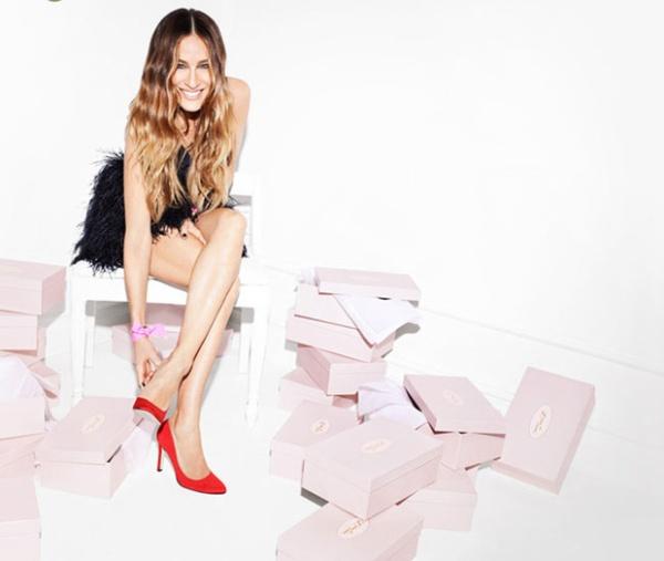 Sarah u reklami za novu kolekciju