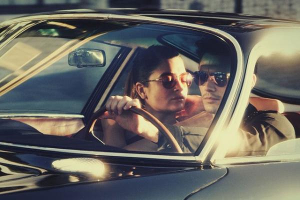 James Franco i Natali Bonifacci u reklamnoj kampanji za Gucci