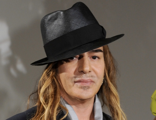 British designer John Galliano appears during Christian Dior Fall-Winter 2009/2010 Haute-Couture collection show held at their headquarters in Paris, France on July 6, 2009. Photo by David Miller/ABACAPRESS.COM (Pictured: Christian Dior, John Galliano)