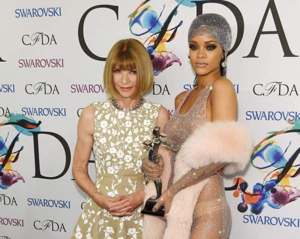 Anna Wintour i Rihanna