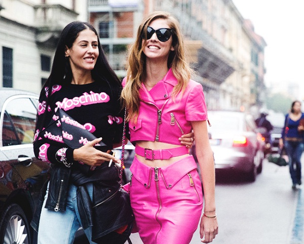 Milan Fashion Week Street Style Spring 2015