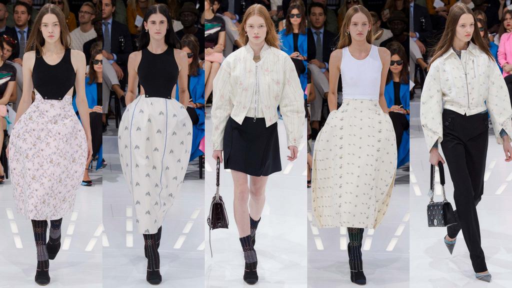 suknja jajastog oblika inspirisana 18. vekom