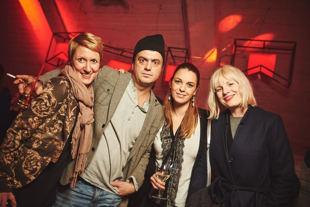 Danijela Gasparac, Sergej Trifunović,Jelena Ćetković i Ida Prester