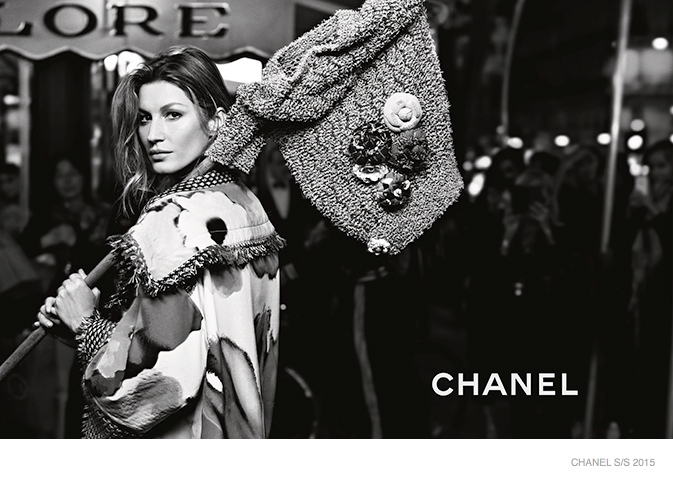 Gisele Bundchen u Chanel kampanji za proleće 2015
