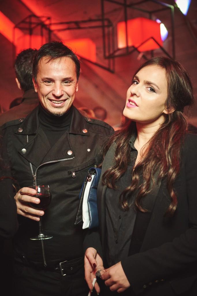 Nenad Radujević i Ana Ostojić