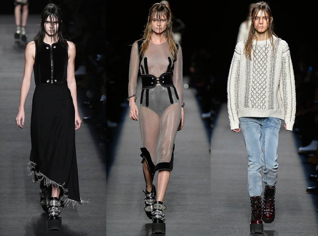 Alexander Wang's Fall 2015 Collection at New York Fashion Week