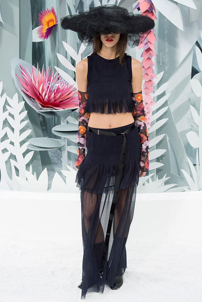 Antonina Petković Chanel couture proleće 2015.