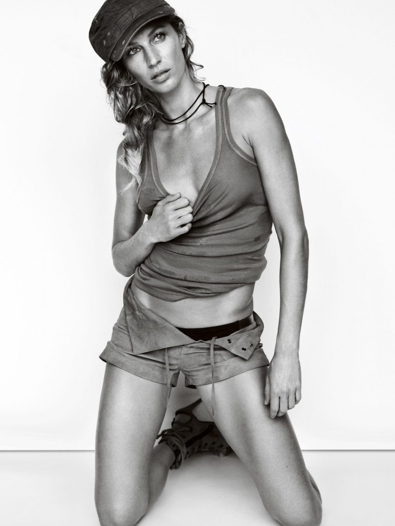 Gisele Bündchen za Vogue UK Mart 2015.