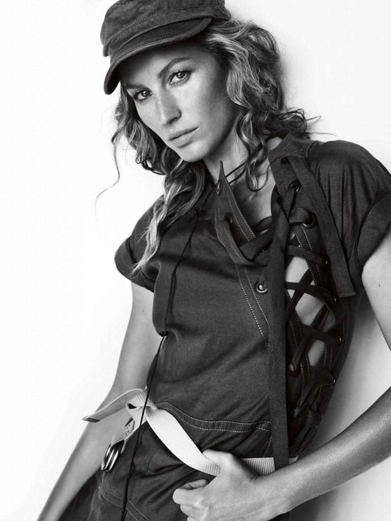 Gisele Bündchen za Vogue UK Mart 2015.