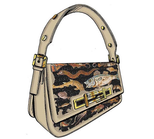 FENDI 3Baguette by Rachel Feinstein