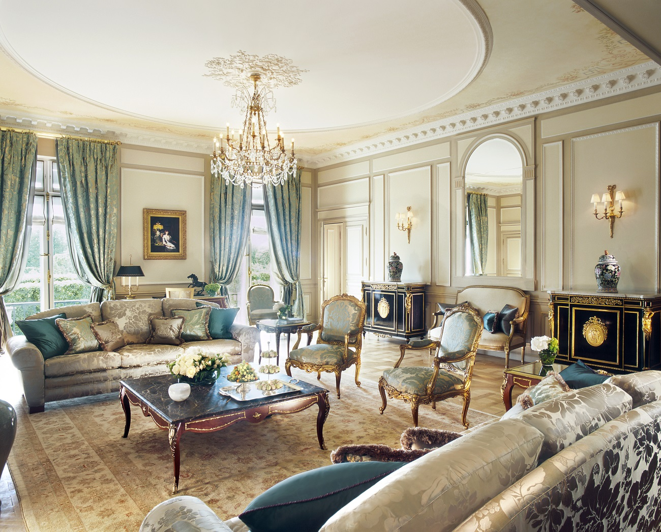 Presidential Suite at Le Meurice hotel