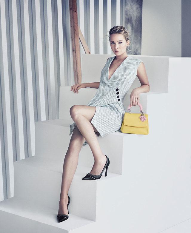 Jennifer Lawrence zvezda kampanje modne kuće Dior