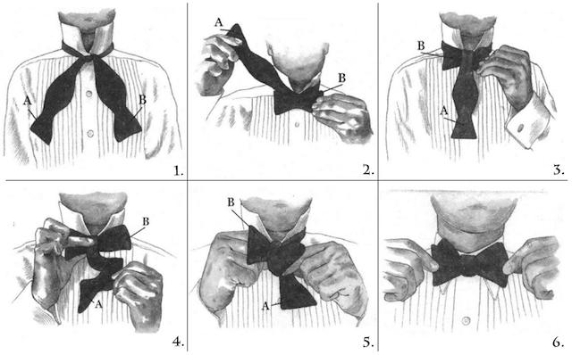 Leptir mašna i kako je vezati