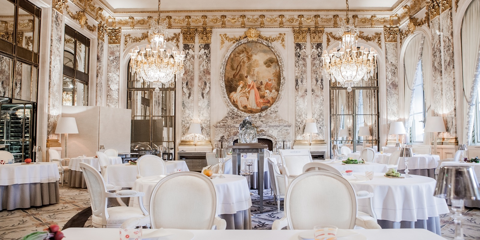 Restaurant le Meurice  © Pierre Monetta