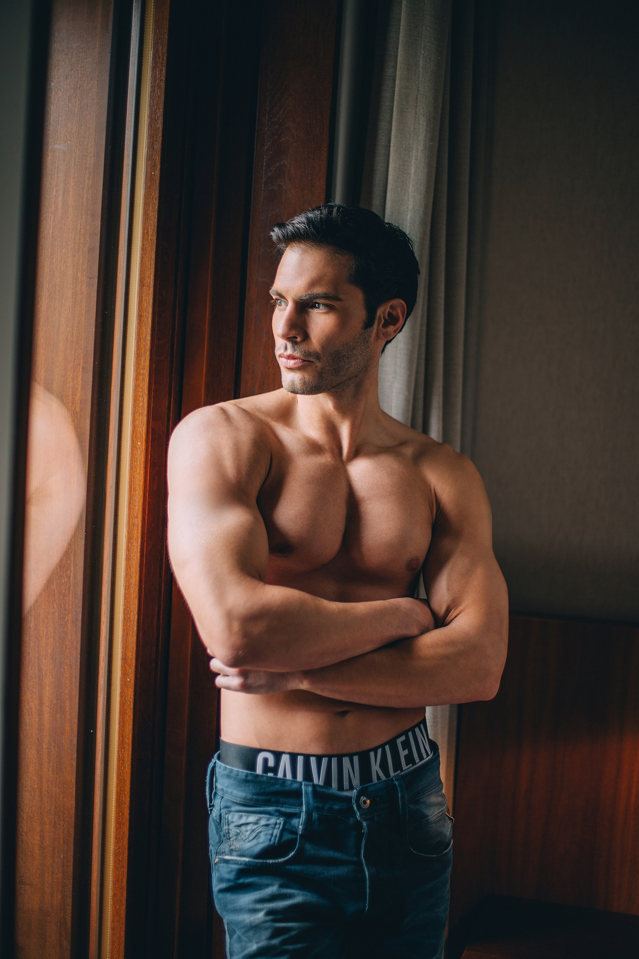 "Vukota Brajović in editorial ""In my Calvins""."