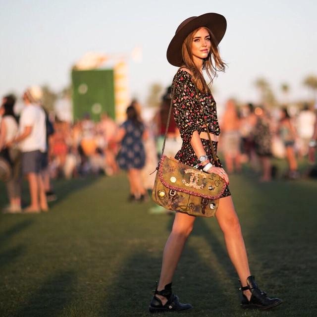 Chiara Ferragni Coachella 2015