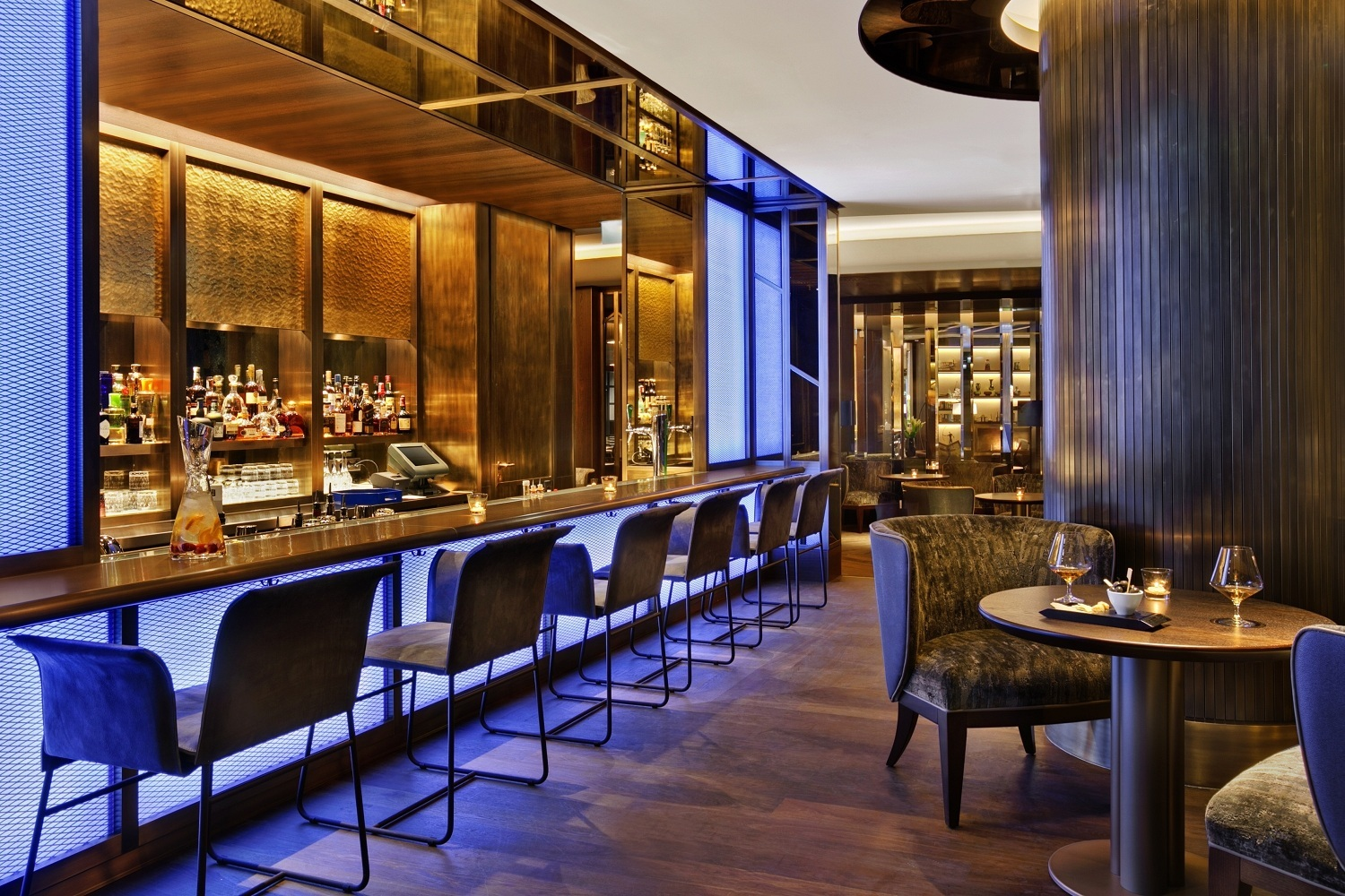 Blue Fox The Bar Kempinski Hotel Corvinus Budapest