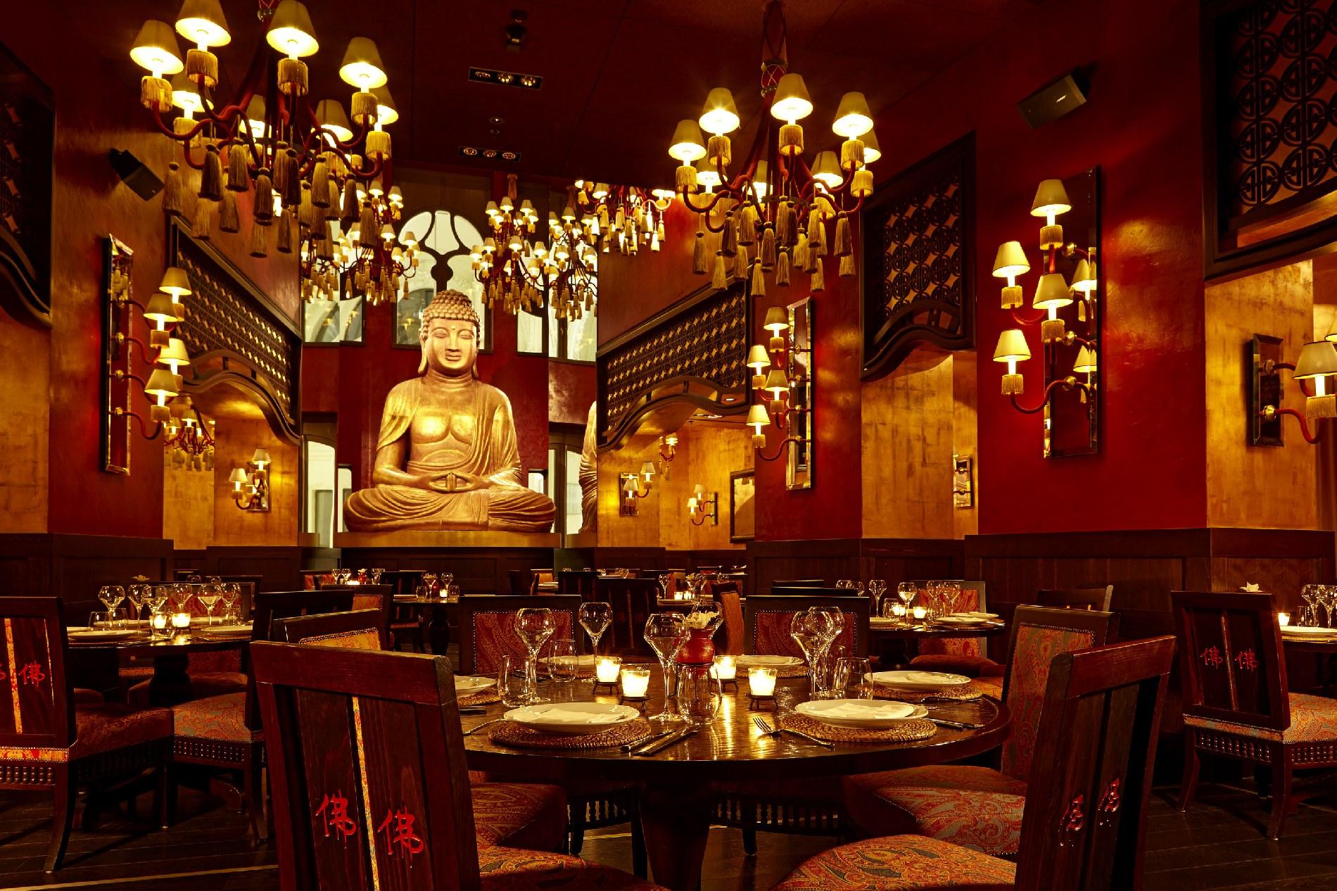 Buddha bar hotel Budapest restaurant