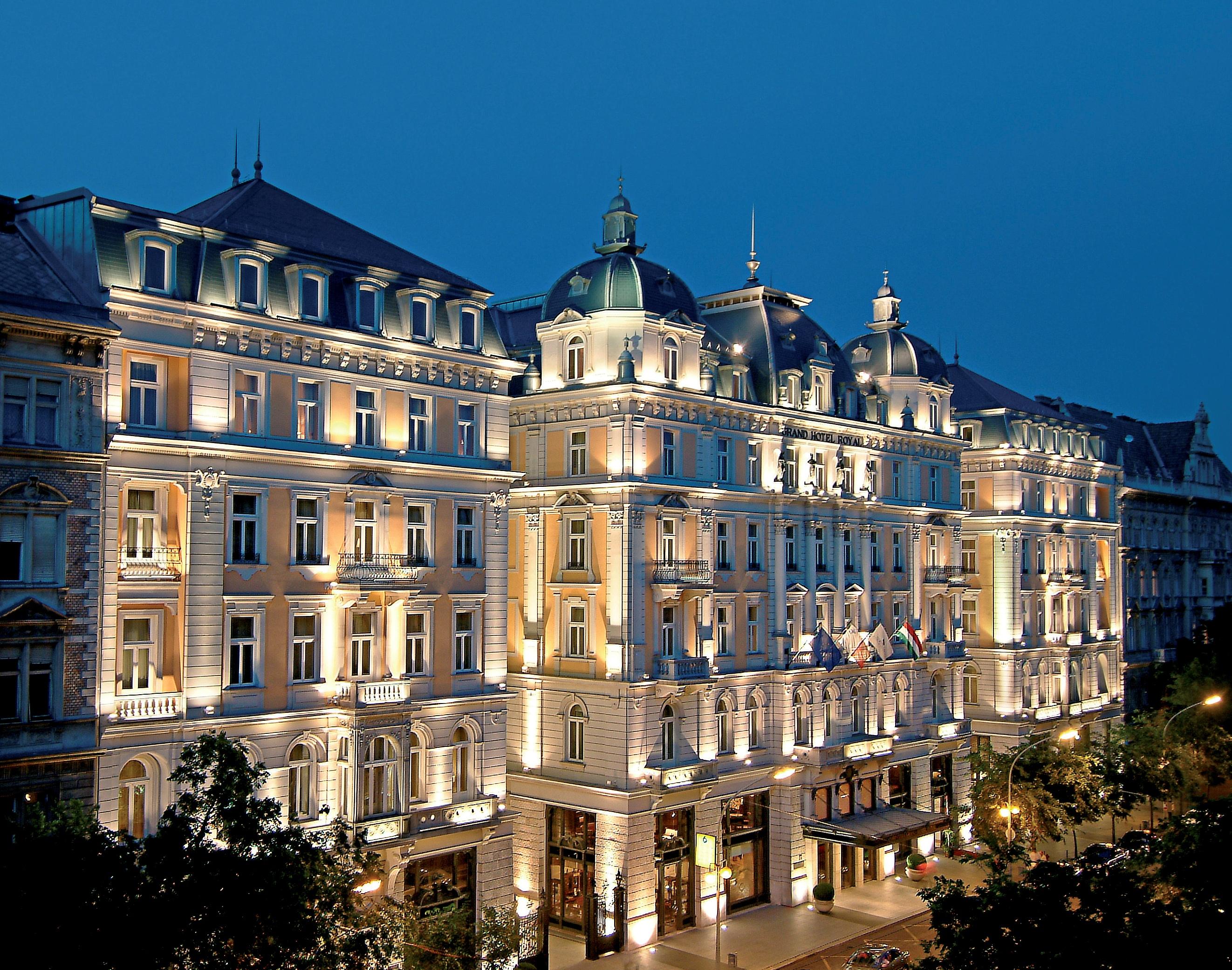 Corinthia Hotel Budapest Facade
