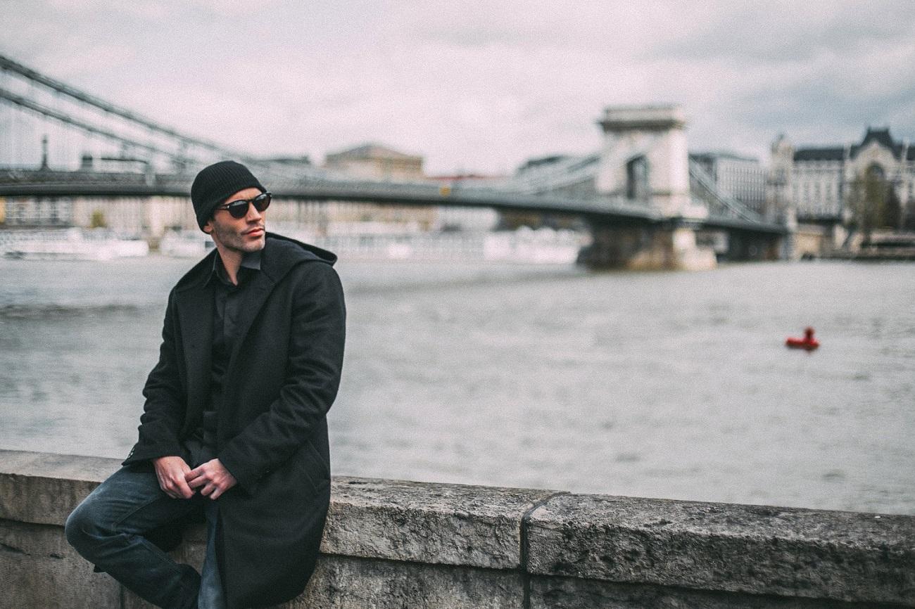"Vukota Brajovic in editorial ""Walking in Pest"" for Fashionela."