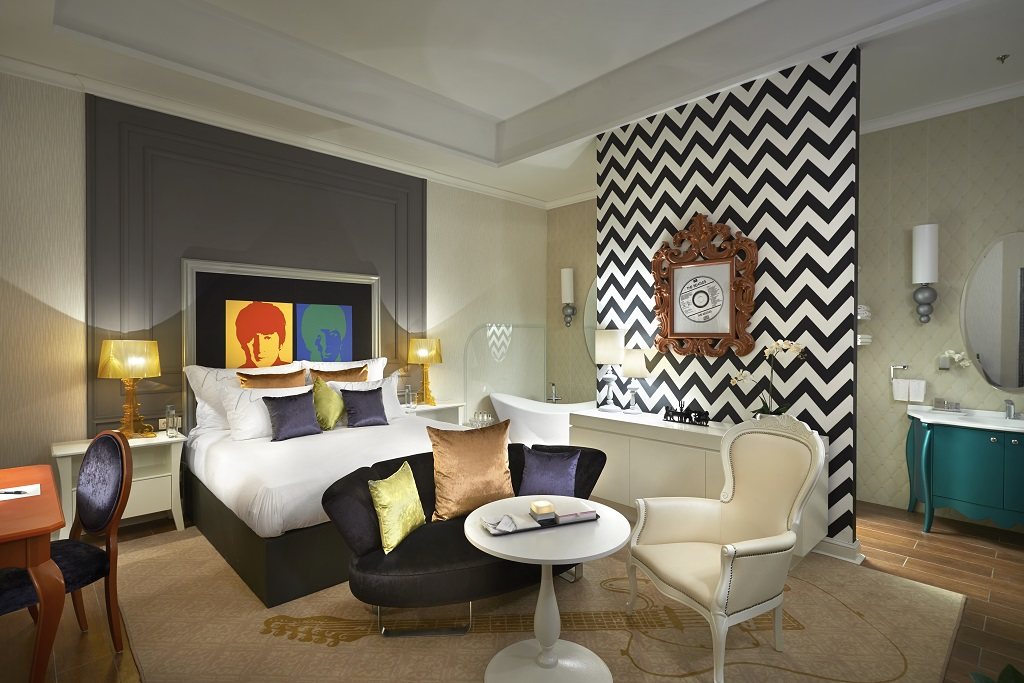 Aria Hotel Budapest Contemporary Wing The Beatles Room