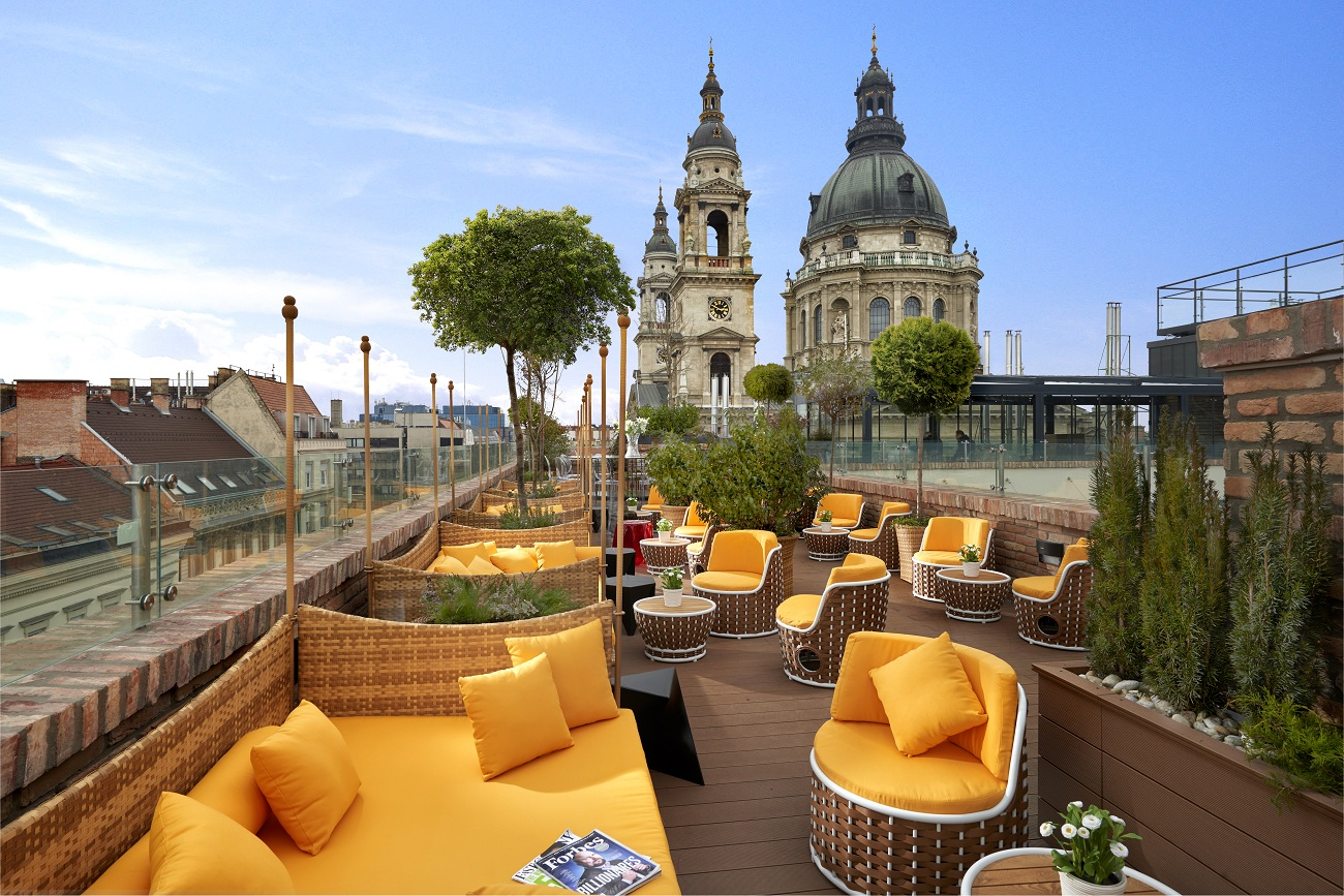 aria hotel budapest high note sky bar