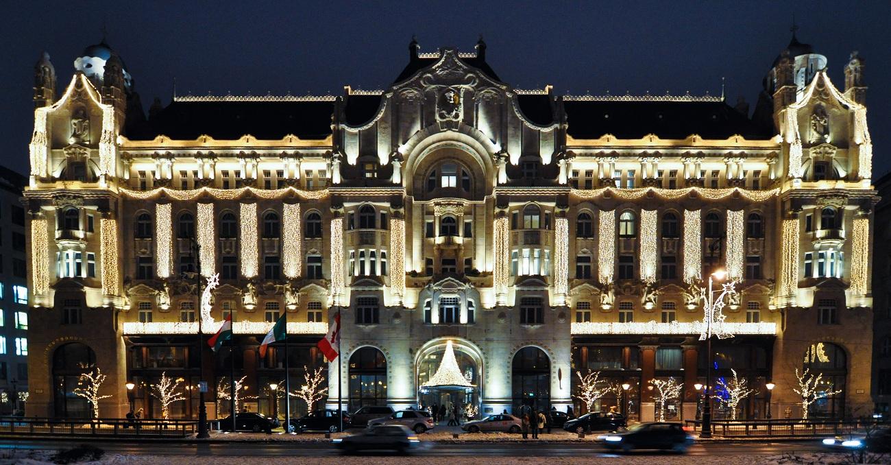 Four Seasons Budapest Facade