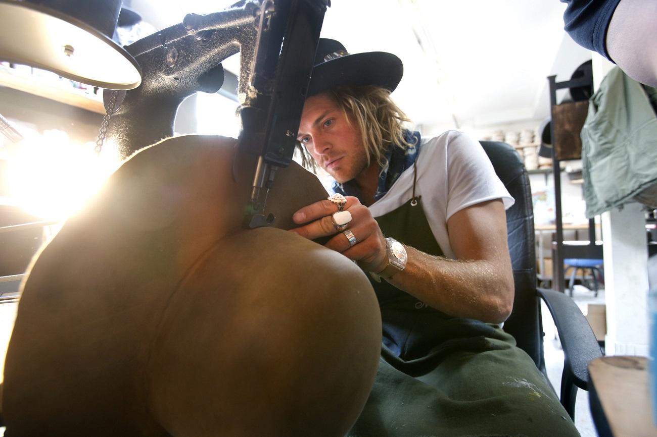 Nick Fouquet hatmaker