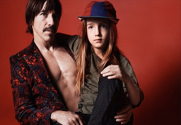 Anthony Kiedis u Marc Jacobs kampanji