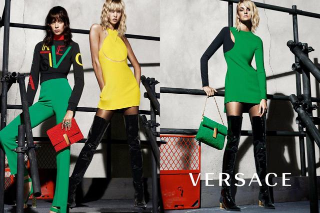 Versace kampanja jesen/zima 2015