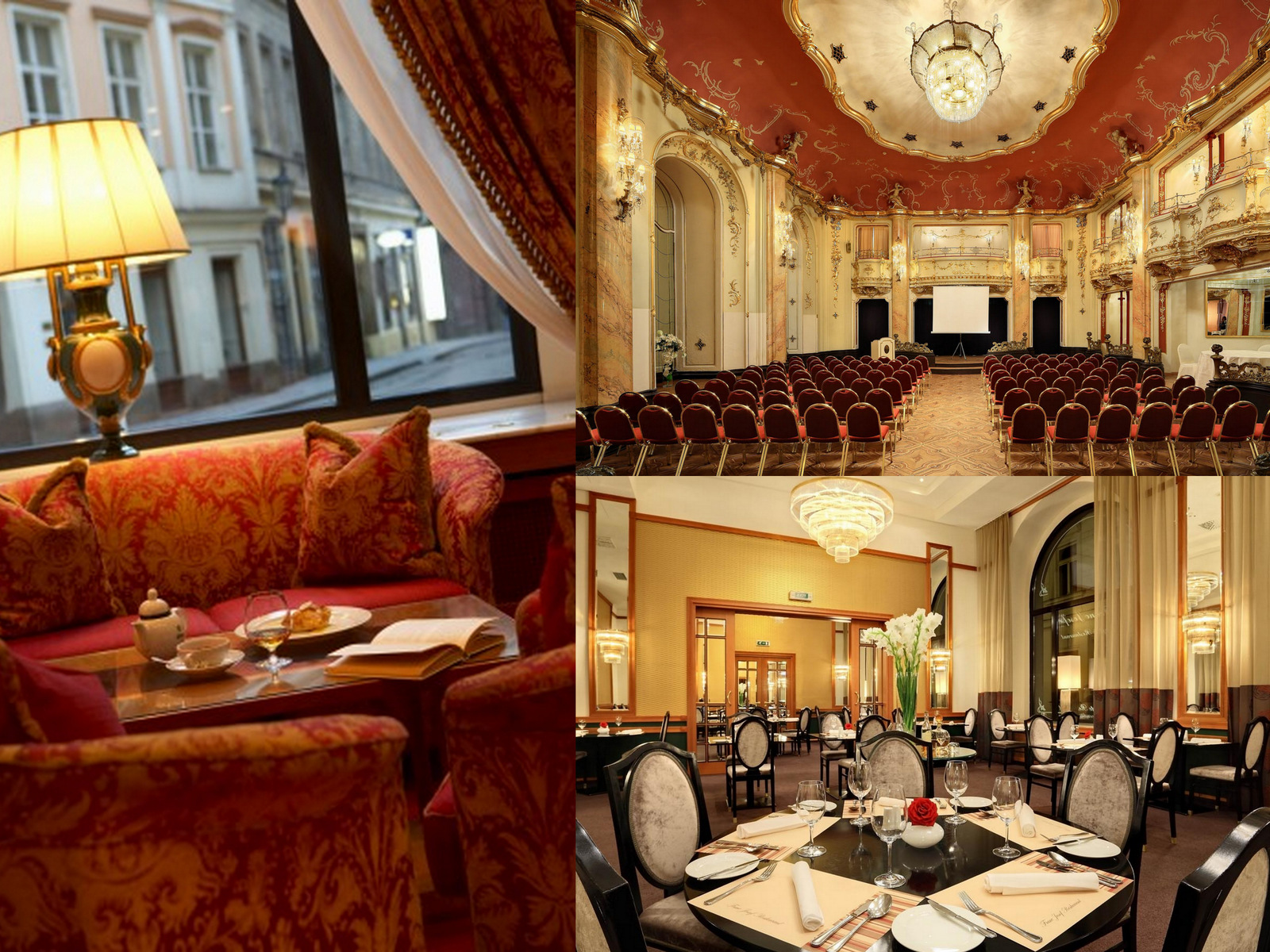 Grand hotel bohemia where tradition meets modern for Modern hotel prague