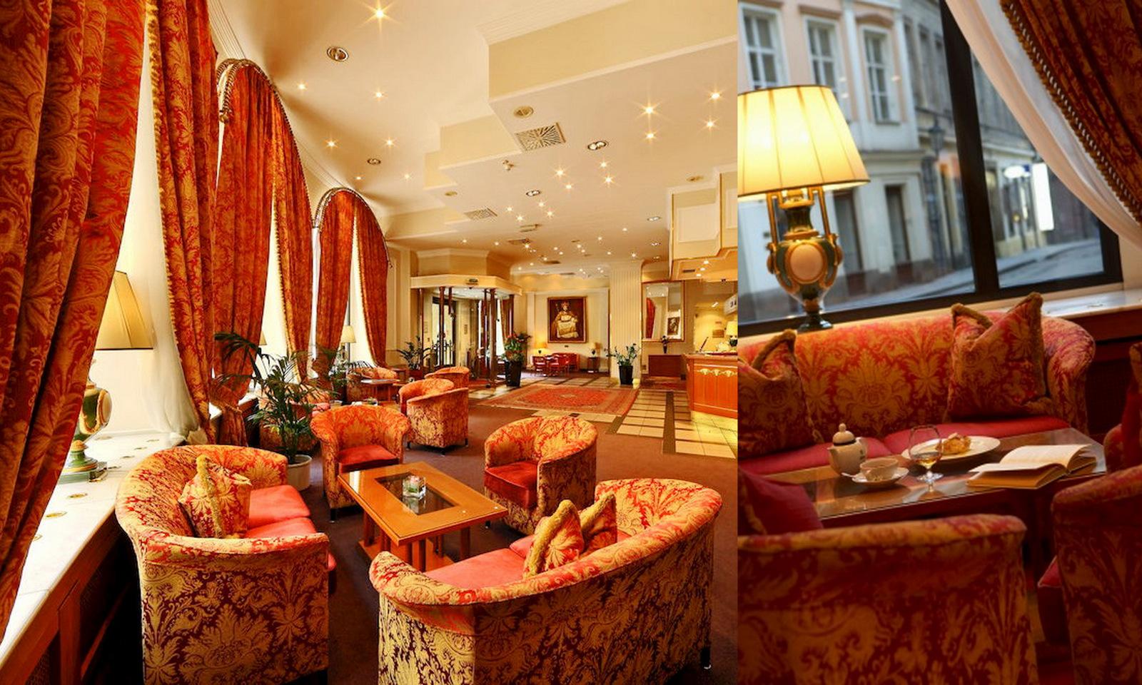 Grand Hotel Bohemia Lobby