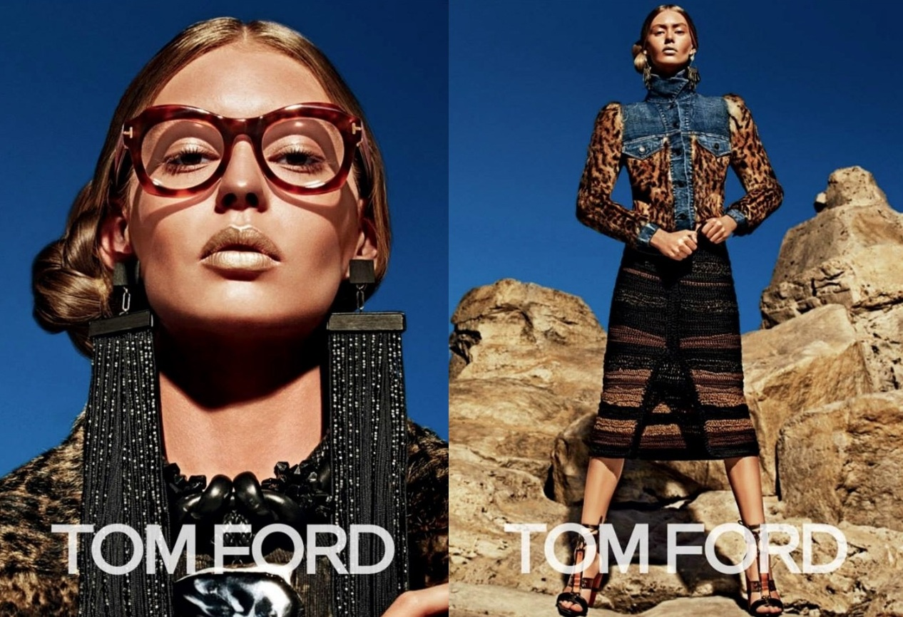 The Autumn Winter 2015 Tom Ford campaign