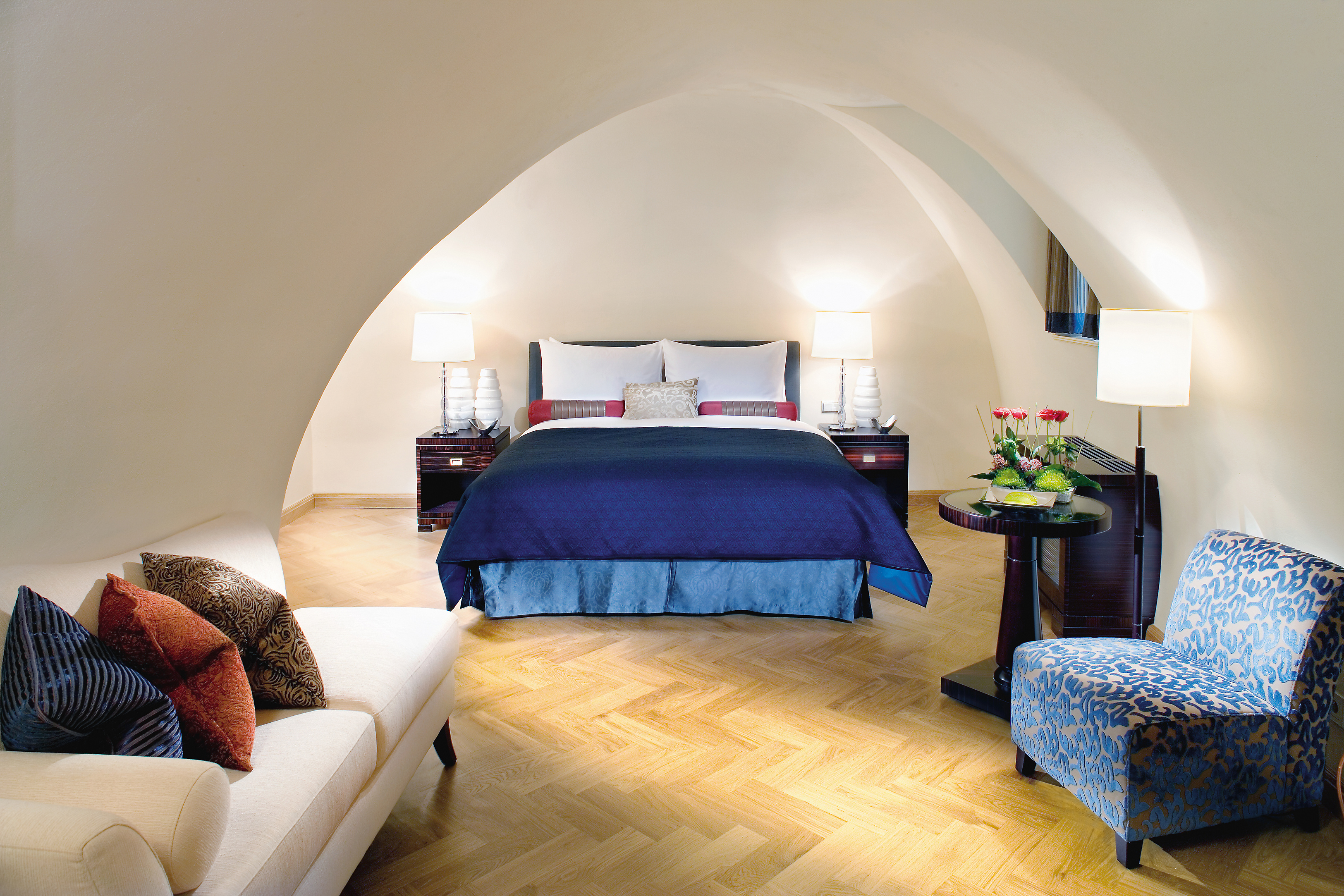 Mandarin Oriental Prague Oriental Suite Bedroom