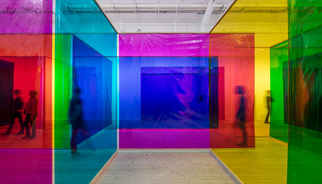 Olafur Eliasson Seu corpo da obra (Your body of work)