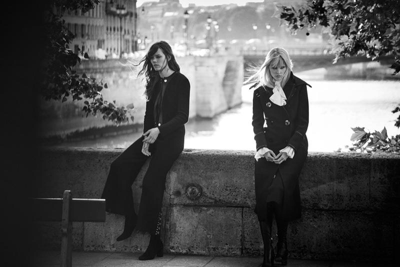 Lara-Stone-Freja-Beha-Peter-Lindbergh-Editorial-fashionela10