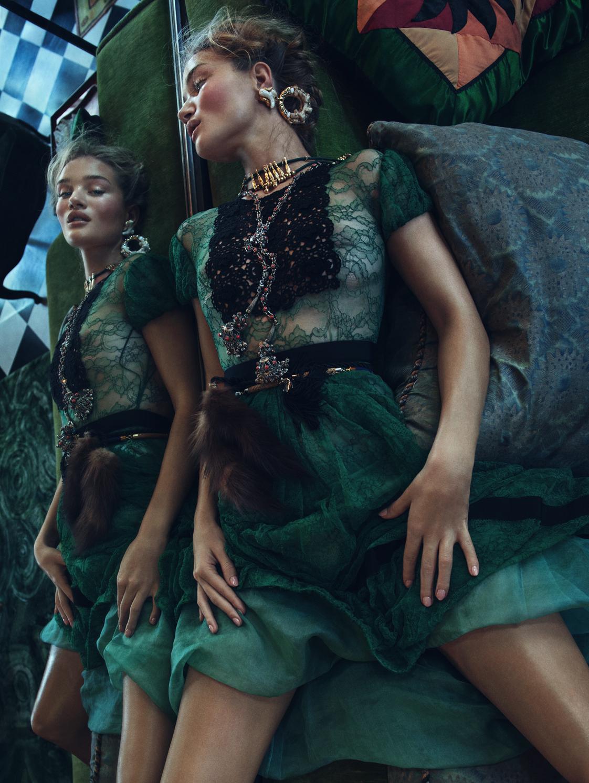 Rosie Huntington-Whiteley for Vogue Korea November 2015