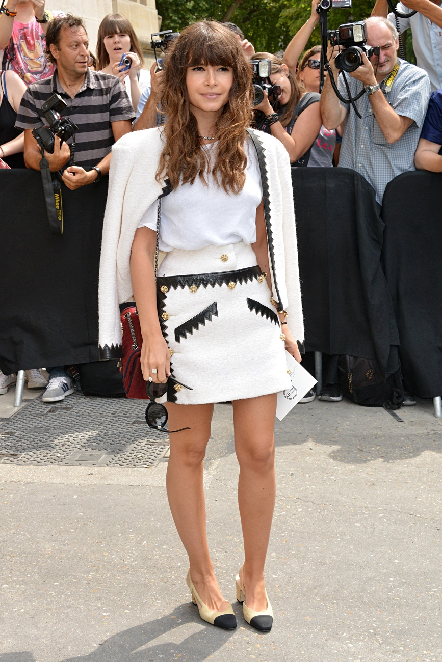 Chanel : Outside Arrivals - Paris Fashion Week - Haute Fall/Winter 2015/2016