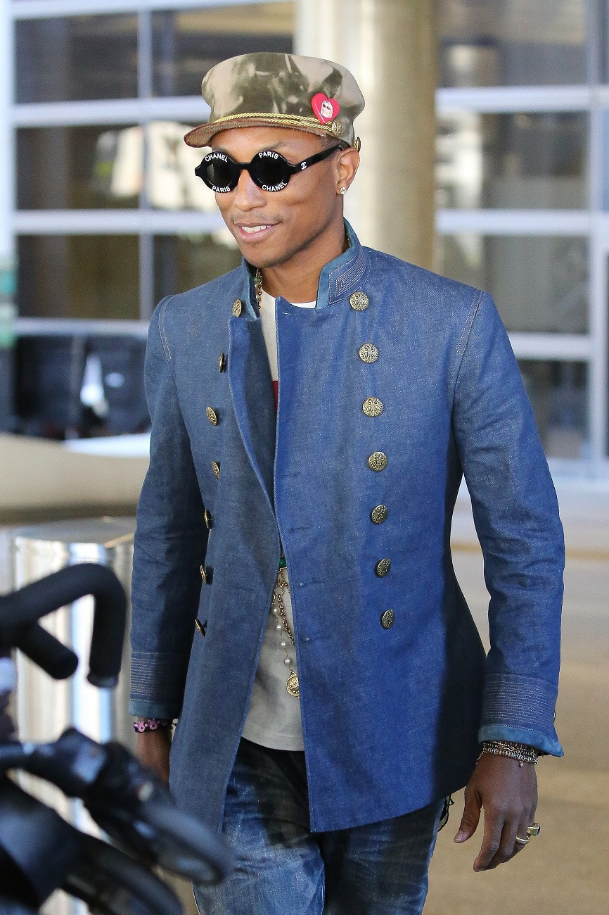 Pharrell Williams Fashionela