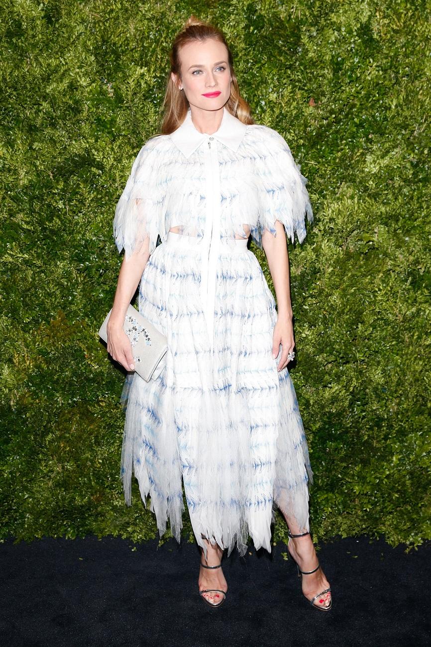 Diane Kruger Moma fashionela