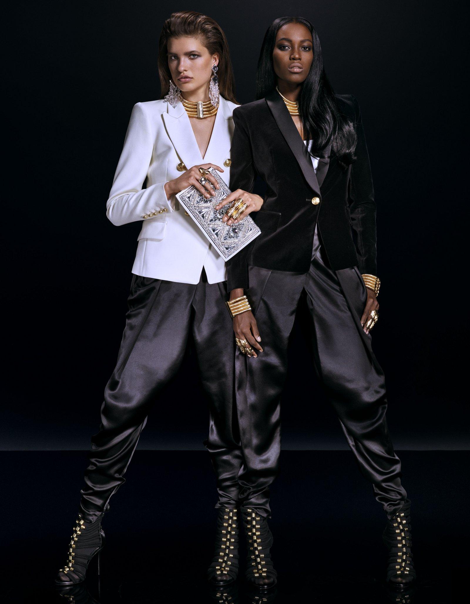 balmain h and m fashionela