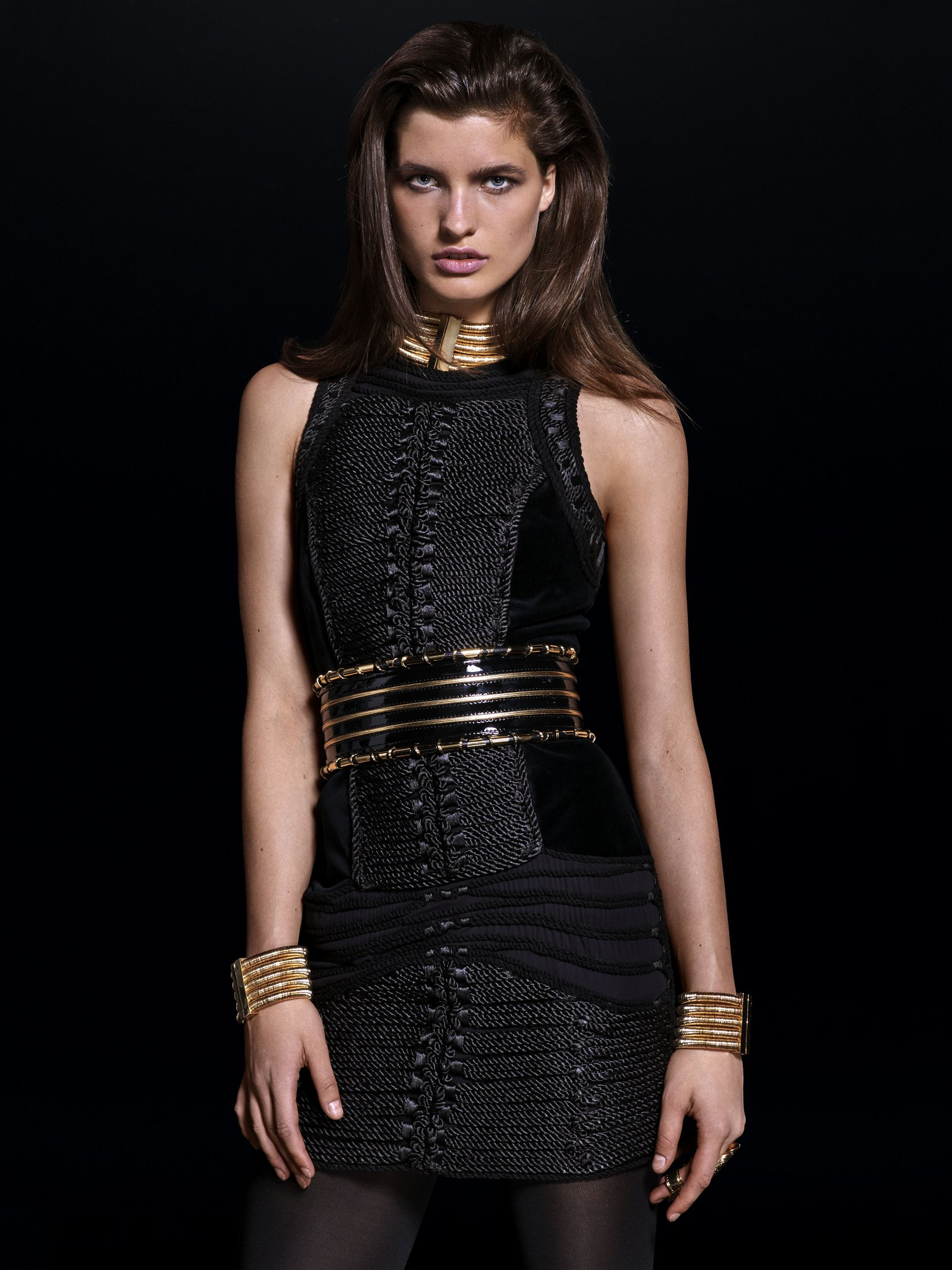 balmain h and m fashionela