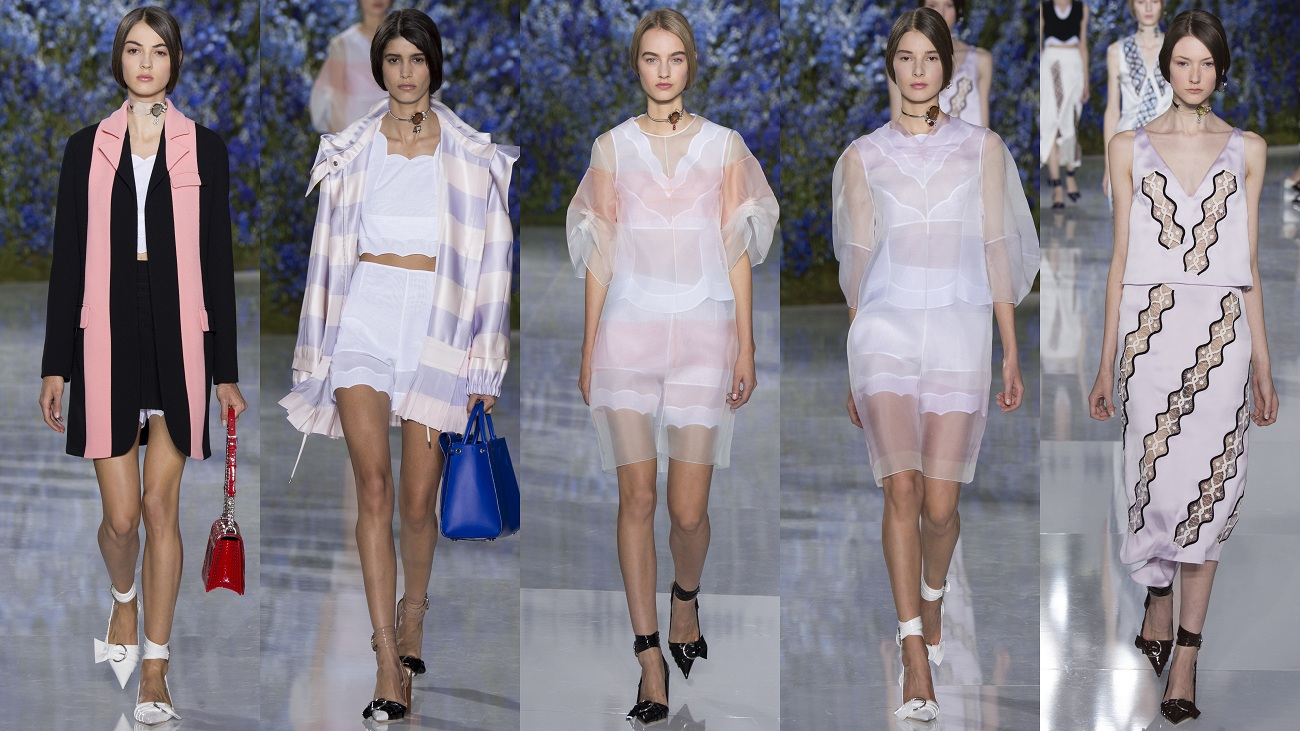 Dior Spring 2016, Paris Fashion Week. Fashion portal Fashionela.