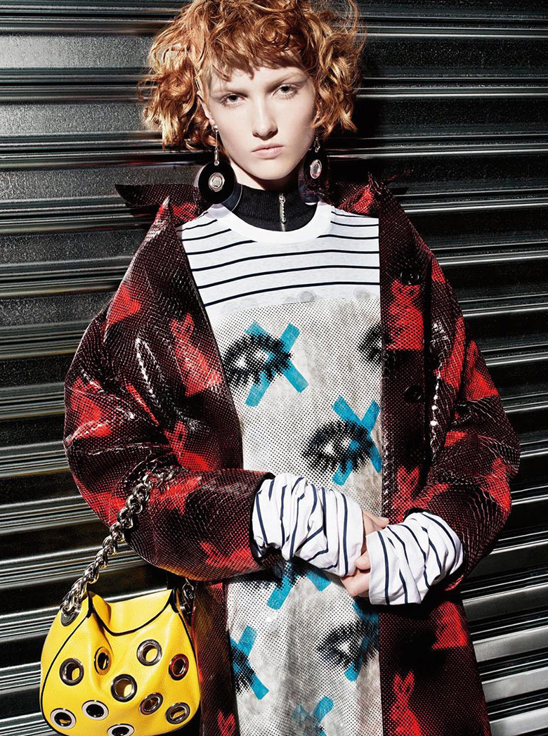 prada resort 2016 campaign fashionela