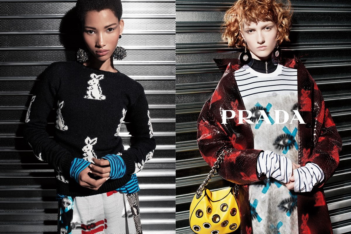 prada resort fashionela
