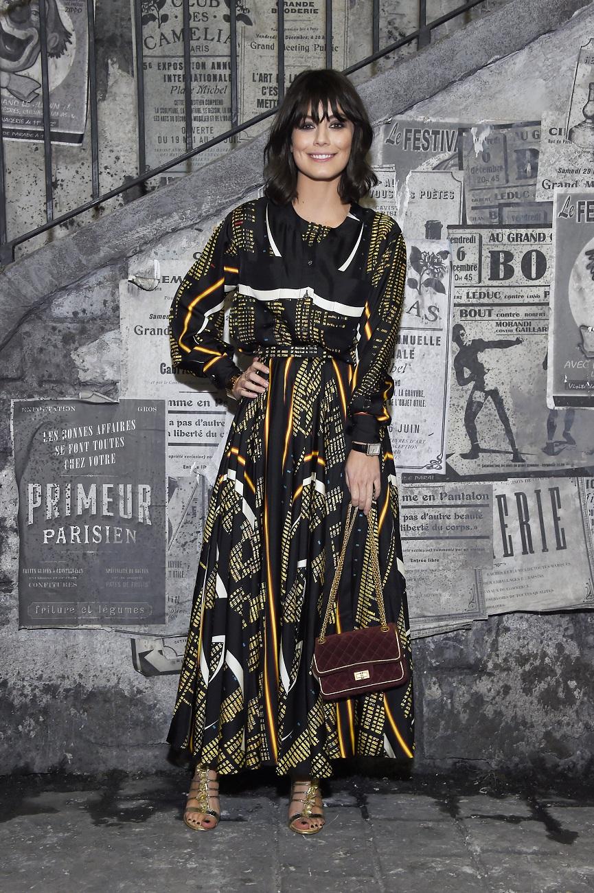 Alessandra Mastronardi chanel fashionela